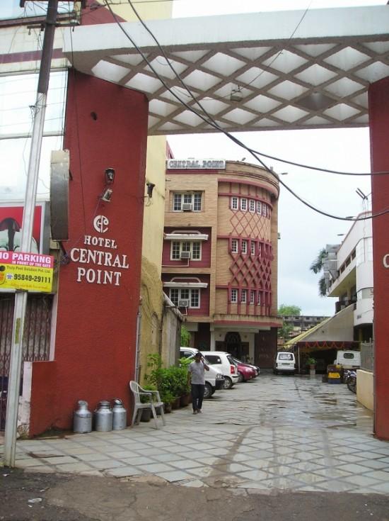 Сентрал пойнт - моя первая гостиница в Биласпуре