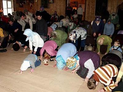 Православие. Раз в году поклониться Богу тоже достаточно