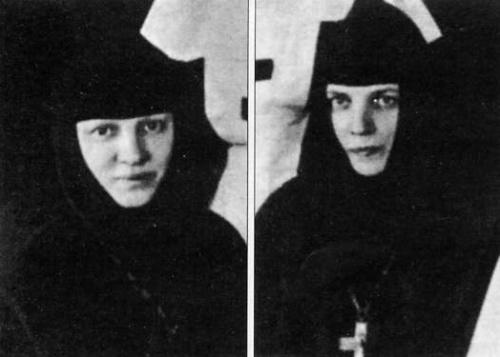 Игумения Сергия и игумения Иоанна (Мансуровы). Основательницы монастыря
