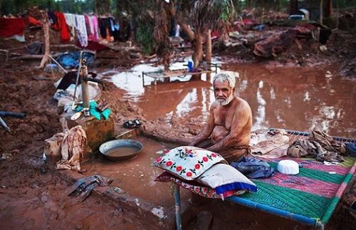 пострадавшие от наводнении