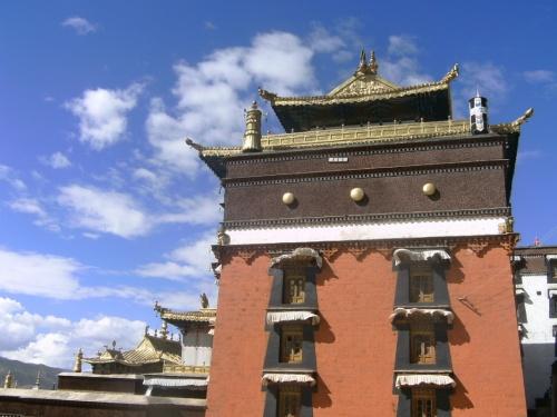 Главный храм Ташилунпо - резиденции панчен-лам