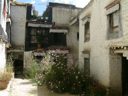 внутренние дворики Ташилунпо