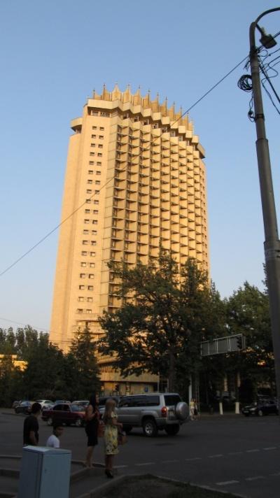 """Гостиница """"Казахстан"""", 25 этажей"""