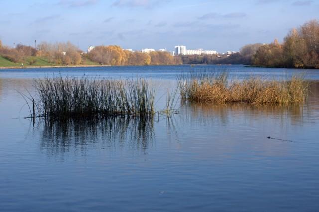 Вот она, река Москва