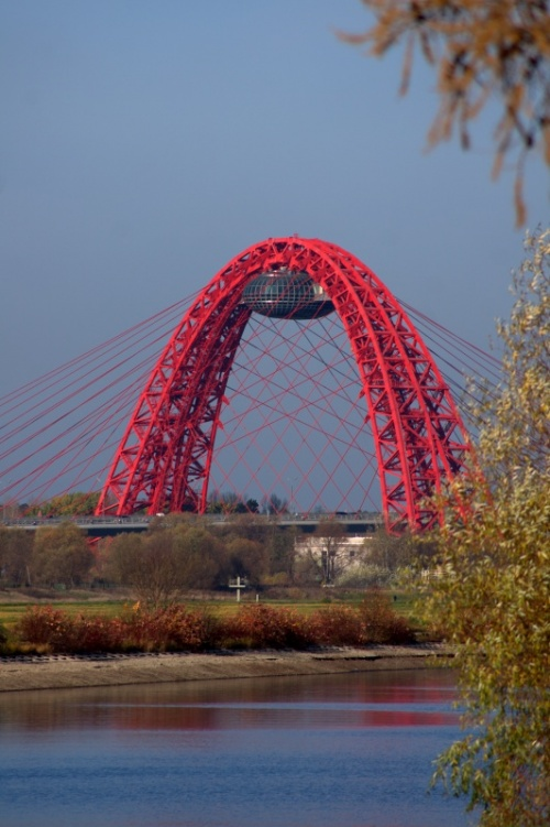 а это Строгинский мост