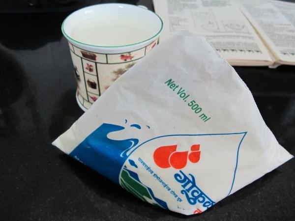 1. Берем молоко