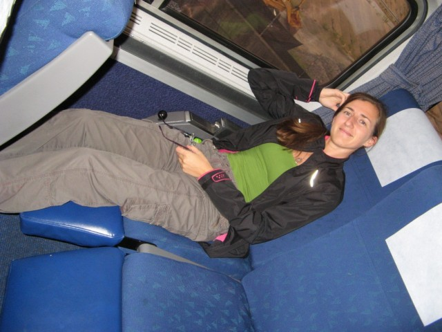 вот такие в поезде кресла