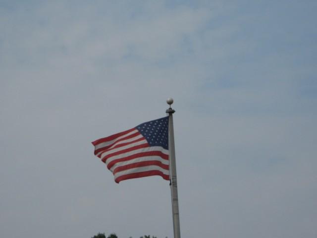 видите повсюду флаги