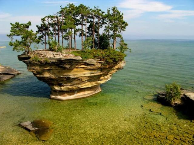 """озеро """"Гурон"""" Северн.Америка"""