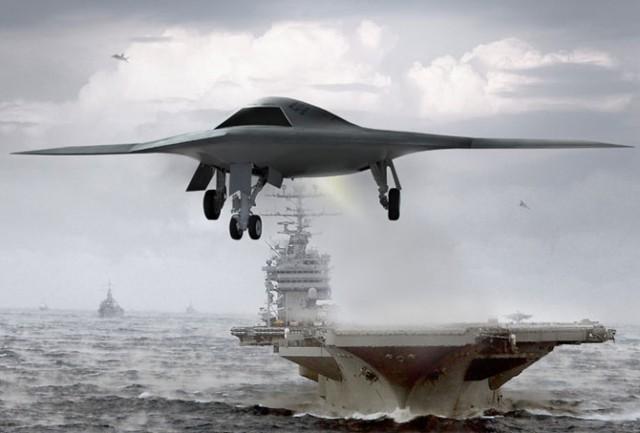 новый беспилотный военный самолёт