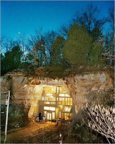 Миссури.Переселение в пещеру.