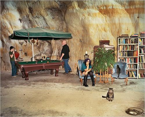 гостинная в пещере