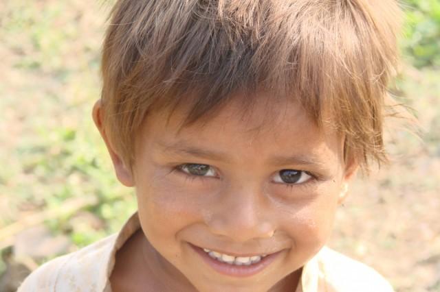 Манду. Мальчик из деревни бхилов