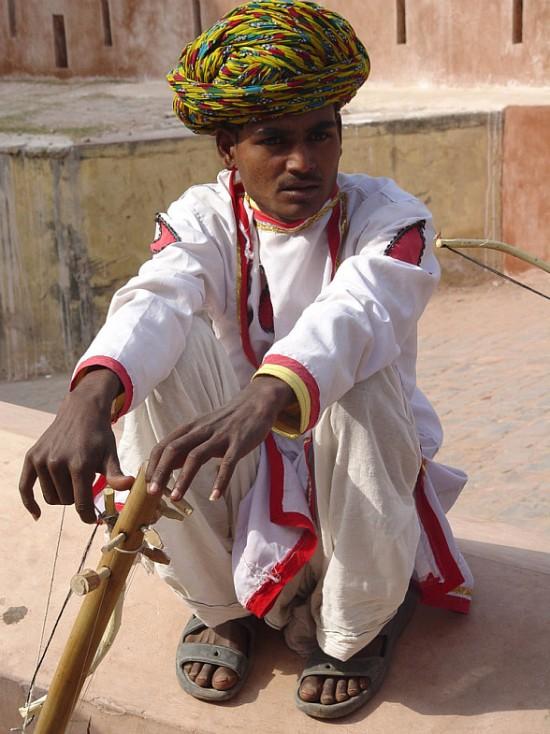 Музыкант. Раджастан