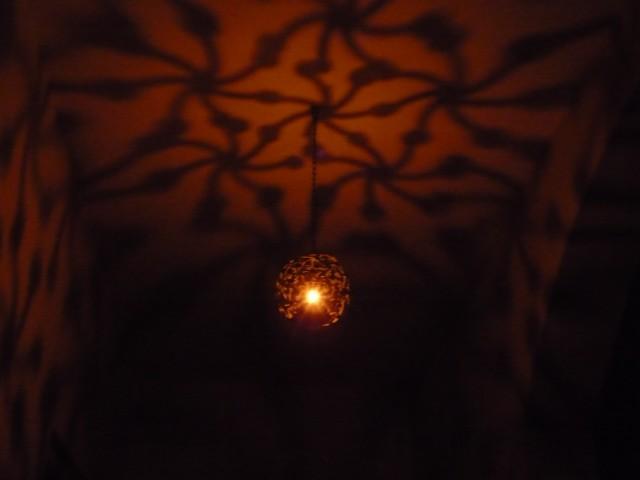 фонарь - волшебный :))