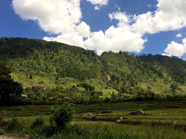 Горы Аватара, куда мы направляемся