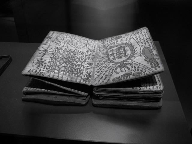 Волшебная книга батакских колдунов