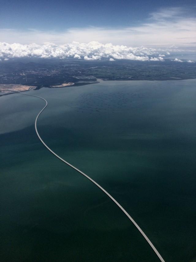 Мост с Пенанга на материк