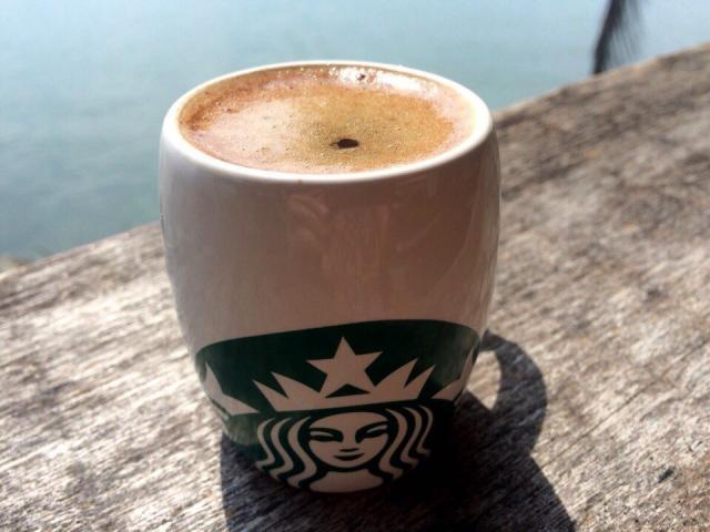 Суматранский кофе из термоса