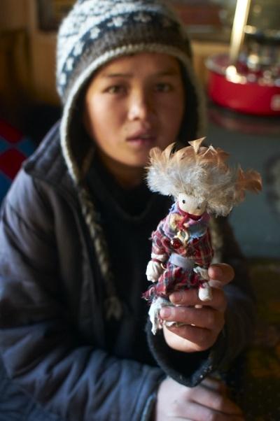 Кукла из гималайских лоскутков. Автор фото - Moony.