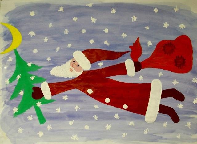 Дед Мороз прилетел!