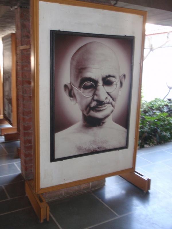 мемориальный музей Sabarmati Ashram Gandhi