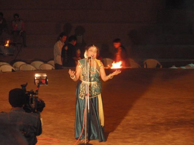 Ездили на шоу, Катхак - один из стилей Классических индийских танцев