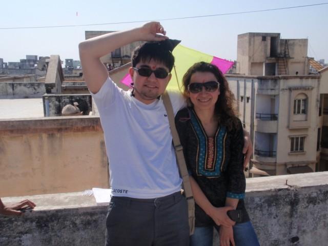 Девушка из Турции, я с ней практикую свой турецкий язык, которую я перестал изучать когда-то. Она как и я одна из своей страны!