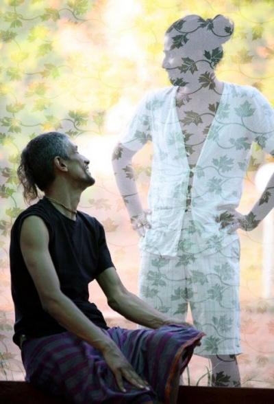Я и Ананд ( хозяин ресорта Vedic Valley)