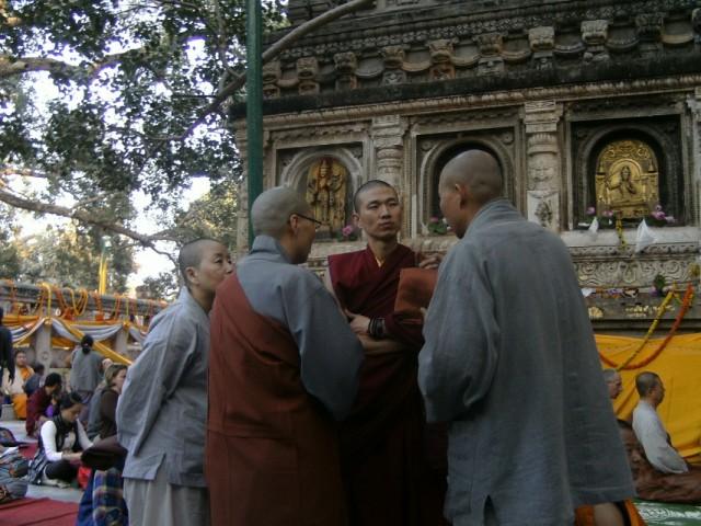 это вам не РПЦ КП с РПЦ МП, это тибетцы с чаньцами