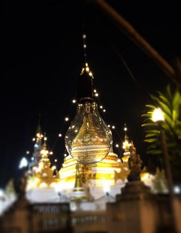 Храм в Лунапарке