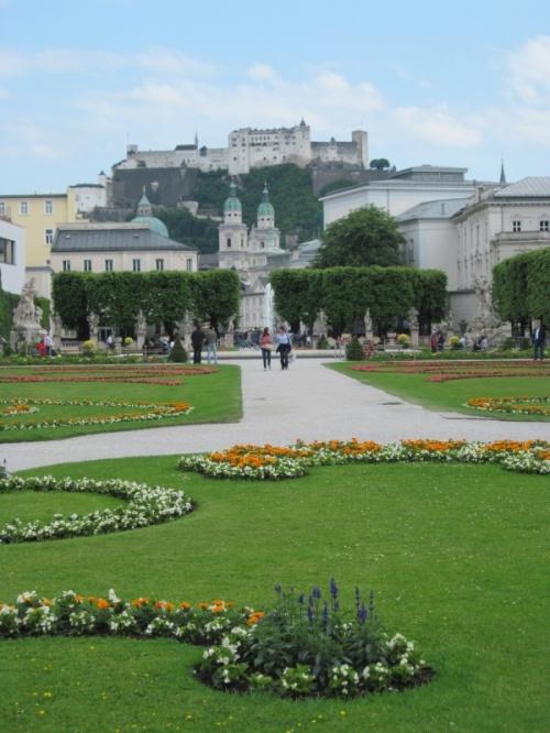 Парк и вид на крепость