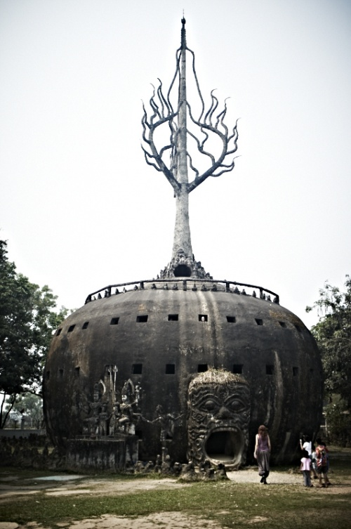 Лаос 1 (Парк Будд)