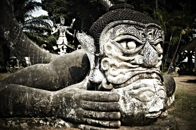 Лаос 3 (Парк Будд)