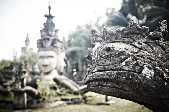 Лаос 5 (Парк Будд)