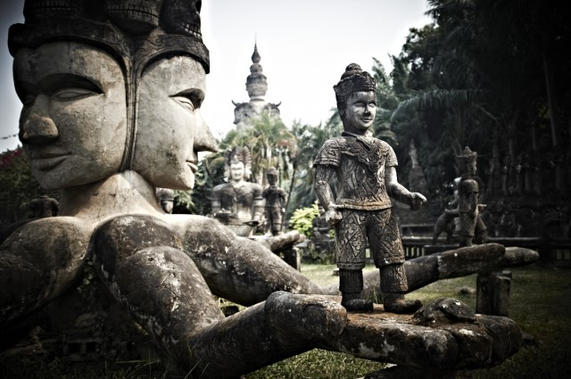 Лаос 6 (Парк Будд)