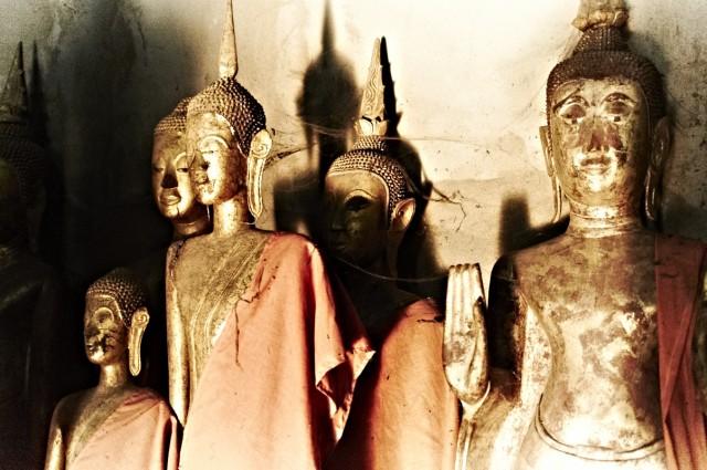 Лаосские будды 1