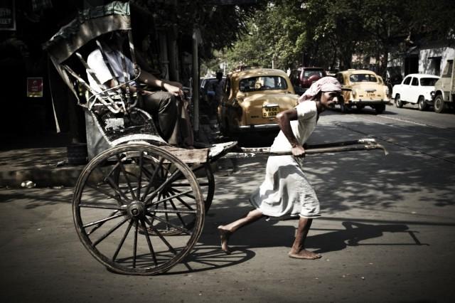 Рикша по-калькуттски
