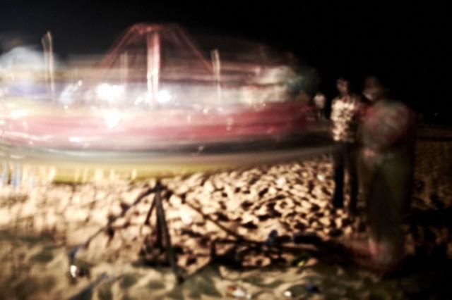 НЛО на пляже Ченная
