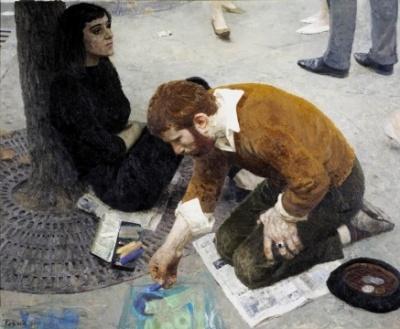 Парижский художник
