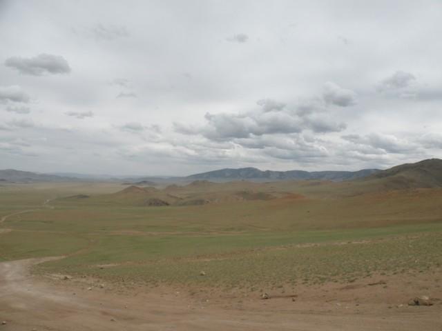 По дороге в Цааган-Уул