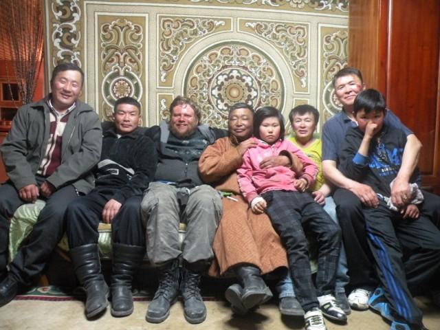 У крайнего справа монгола - День рождения