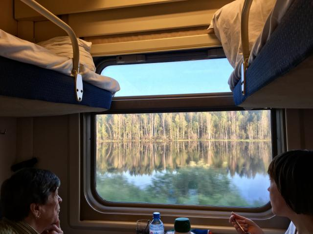 Поезд Владивосток-Москва