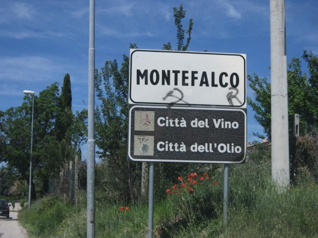 Монтефалько, город оливкового масла, город вина