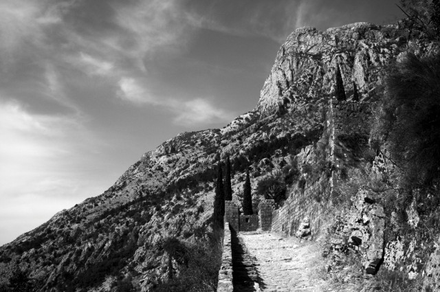 Вверх на крепостную гору