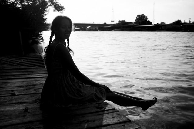 На реке Баяна, остров Ада