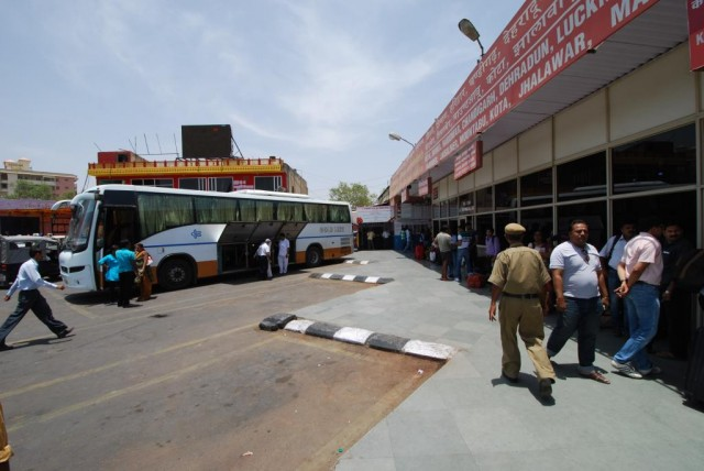 Автовокзал в Джайпуре