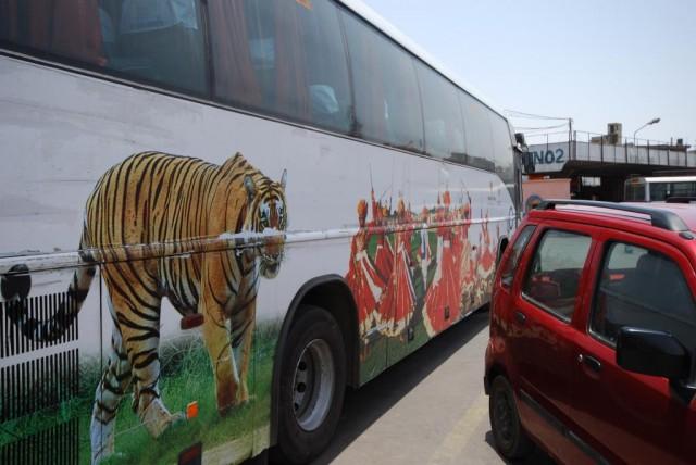 Автобус в Джодпур