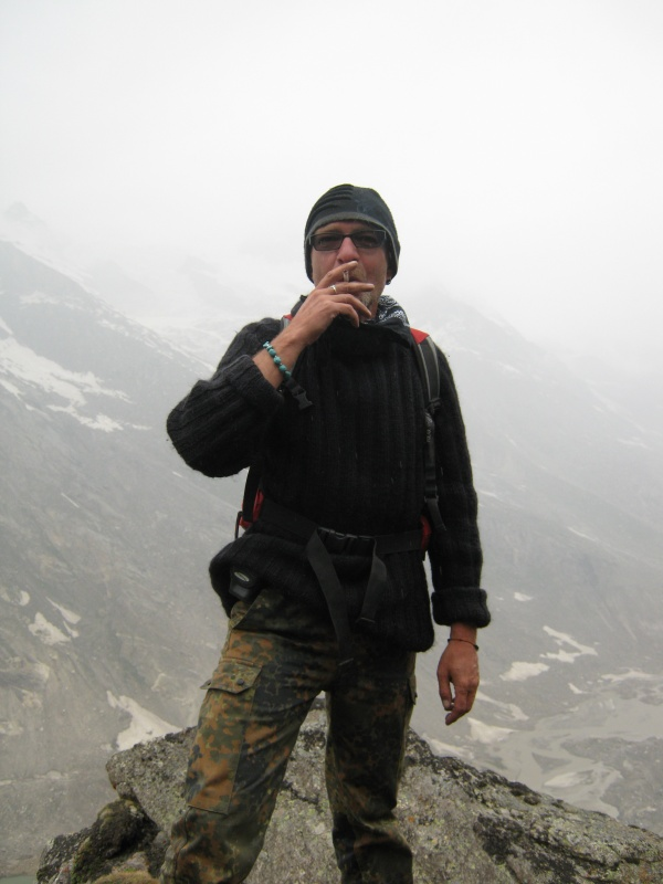 Psychiatrist from Russia, who passed the Pin Parvati pass, where a team of Indian Commandoes couldn't