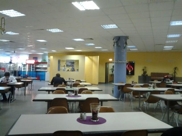 Служебная столовка в Шереметьево